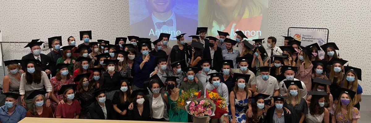 Les diplômés 2021 : un grand cru version master !